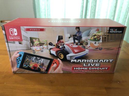 マリオカートライブホームサーキットの箱