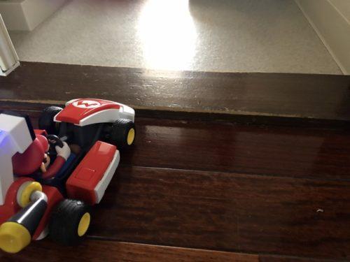 マリオカートが乗り越えられない段差