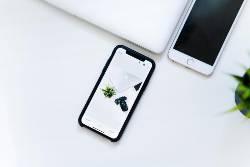 iPhoneが直った図