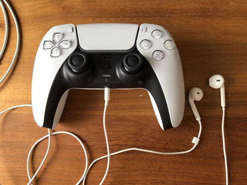 PS5 コントローラーの図